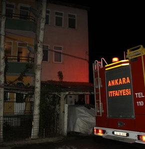Anne, yangın çıkınca çocuklarını kucağına alıp ikinci kattan atladı