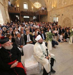 Ermeniler 50 yıl aradan sonra KKTC'de ayin düzendi