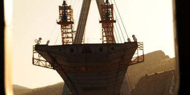 Urfa'nın Boğaz Köprüsü Nissibi Köprüsü'nde sona gelindi