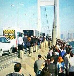Boğaziçi Köprüsü,trafik kazası,zincirlikuyu,trafik