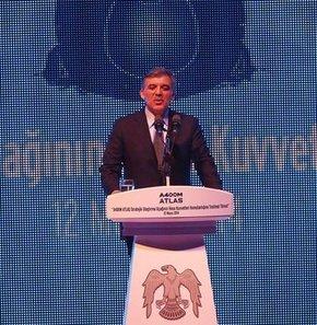 Abdullah Gül: Projelere zamanında katılmadığı takdirde fırsatlar kaçar, Abdullah Gül'den önemli açıklamalar, A400M Atlas Stratejik Ulaştırma uçağının Türk Hava Kuvvetleri'ne teslim töreninde konuştu