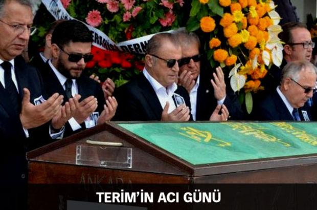 Fatih Terim'in dünürü Güven Çetin, Kocatepe Camii'nde kılınan cenaze namazının ardından toprağa verildi.