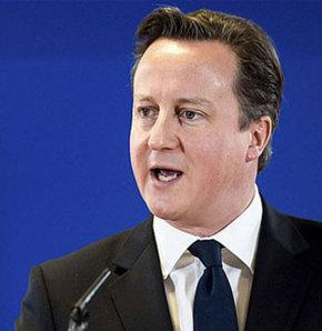 Cameron, Türkiye'nin AB'ye üye olması halinde vatandaşlarının çalışmak üzere İngiltere'ye gelmesini istemediğini söyledi.