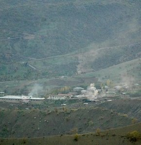 Mesken Dağı'ndaki askeri birliğe taciz ateşi: 1 asker yaralı