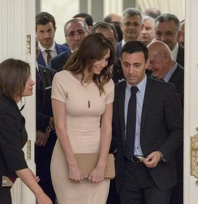 Mustafa Sandal ve eşi Emina Sandal, Bosna Hersek