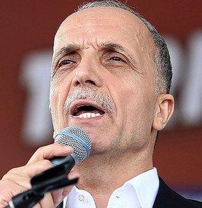 Türk-İş'ten çalışmama eylemi,Türk-İş Genel Başkanı Ergün Atalay,Soma'daki maden faciasıyla ilgili 770 bin üyelerinin yarın çalışmayacağını açıkladı