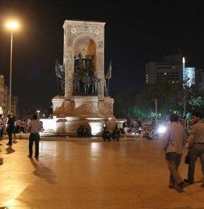 Soma'daki maden kazasını protesto etmek için sendikların çağrısı Taksim'de güvenlik güçlerini harekete geçirmişti