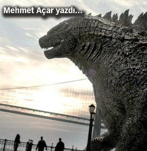 Mehmet Açar yazıları, Mehmet Açar Godzilla, Mehmet Açar vizyon filmleri, Mehmet Açar vizyon, Mehmet Açar Habertürk
