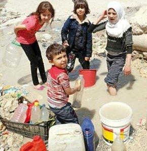 Halep suya hasret, Halep susuz, Halep'te su sıkıntısı, Halep su kesintisi, Halep suya hasret kaldı.