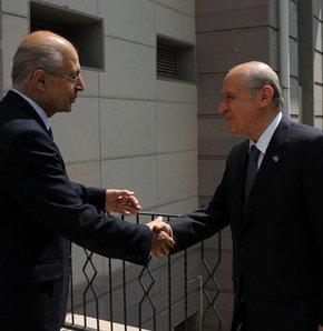MHP Genel Başkanı Devlet Bahçeli, 10. Cumhurbaşkanı Ahmet Necdet Sezer'i ziyaret etti.