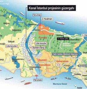 Çılgın proje, Kanal İstanbul'un güzergahı, Kanal istanbul nereye yapılacak, Kanal İstanbul nasıl olacak