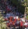 İşçiler 'taşerona' karşı yürüdü