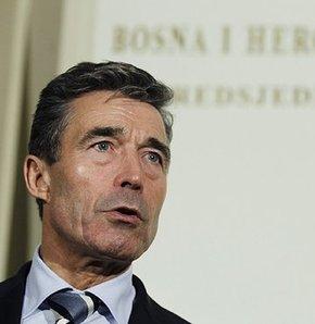 Rasmussen'den Bosna Hersek ziyareti,NATO Genel Sekreteri Rasmussen'den Bosna Hersek ziyareti,NATO'dan Bosna Hersek'e destek