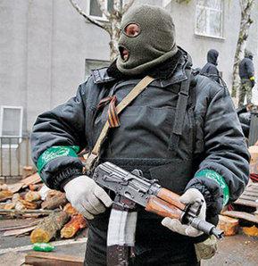 Ukrayna baskın, Ukrayna çatışma, Kontrol noktasına baskın, Ukrayna'da kontrol noktasına baskın.
