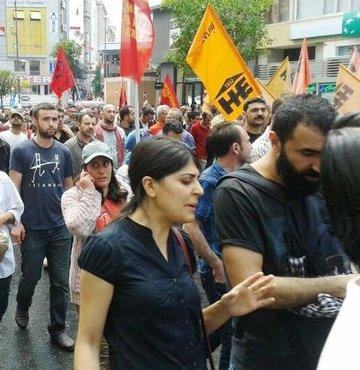 Alevi derneklerinden protesto