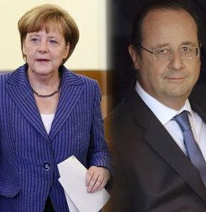 Avrupa Parlamentosu seçim, Merkel seçim oy kaybı, Hollande oy kaybı, AP seçimleri