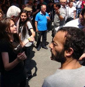 Kadıköy'de gerginlik, stant açan BDP'li grup gerginlik
