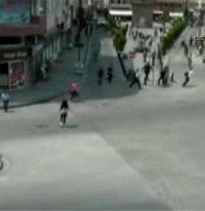 Gökçeada depremi mobese kamerasında!