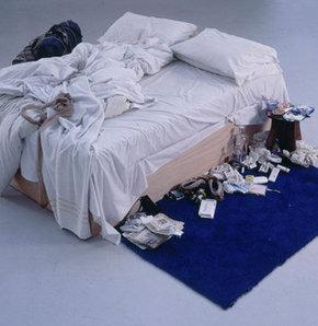 Tracey Emin dağınık yatak, dağınık yatağa 4 milyon tl, Charles Saatchi