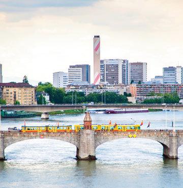 İsviçre'nin bir ucu Basel!
