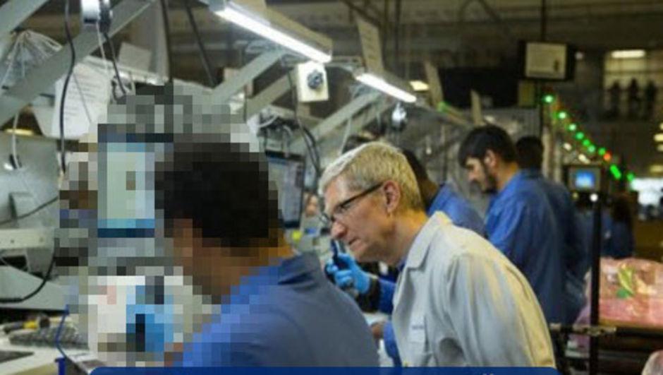 Apple'ı madara eden fotoğraf!