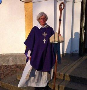isveç, kadın başpsikopos, isveç protestan kilisesi, antje jackelon, Uppsala Katedrali, kadın psikopos, ilk kadın başpsikopos