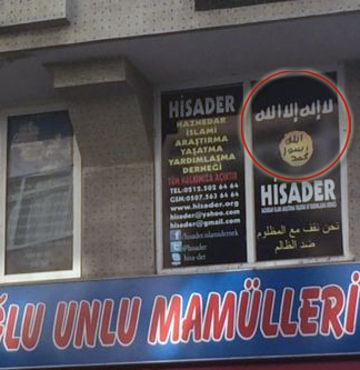 Güngören'de IŞİD tabelası!