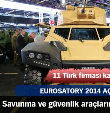 Eurosatory 2014 başladı!