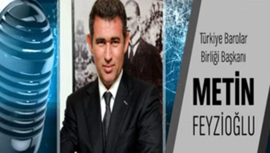Metin Feyzioğlu ve Mehmet Bekaroğlu Teke Tek'te