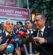 Başbakan Erdoğan, Saadet Partisi'ni ziyaret etti
