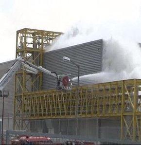 Tuzla Kimyacılar Sanayi Sitesi yangın fabrika