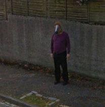 Google kamerasına takılan ilginç görüntüler