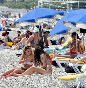 Zonguldak plaj gizli kamera
