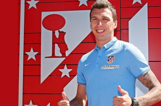 Mario Mandzukic, Atletico Madrid ile 4 yıllık sözleşme imzaladı