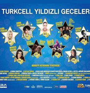 Harbiye Cemil Topuzlu Açıkhava ağustos konserleri, Turkcell Yıldızlı Geceler