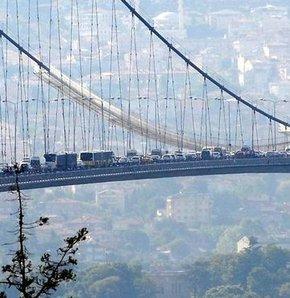 Boğaziçi Köprüsü intihar trafik