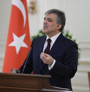 Cumhurbaşkan Abdullah Gül'den İsrail açıklaması