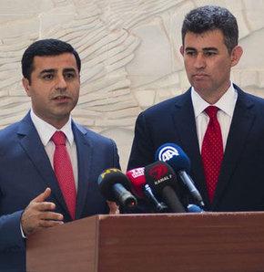 HDP'nin Cumhurbaşkanı adayı Selahattin Demirtaş TBB Başkanı Metin Feyzioğlu ile görüştü