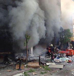 Zeytinburnu Mithatpaşa tramvay durağı patlama