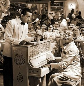Casablanca filmi, Kazablanka,ingrid bergman, Humphrey Bogart, casablancanın piyanosu satılıyor