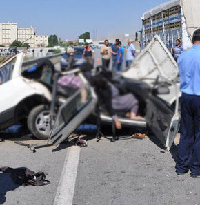 Yozgat'ta katliam gibi kaza! (Trafik Kazası)