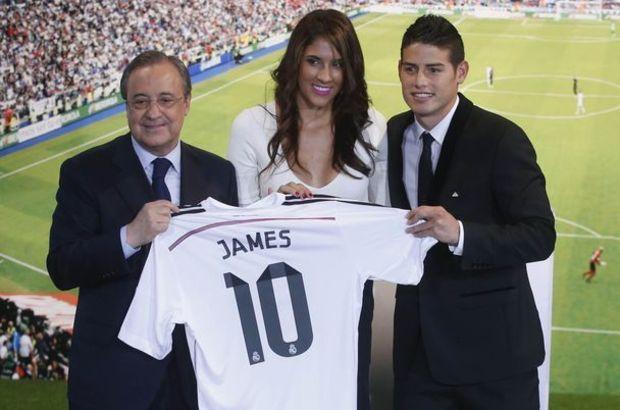 James, 2014 Dünya Kupası'nda gol kralı olmuştu.