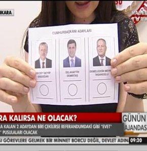 Cumhurbaşkanlığı seçimi 10 ağustos oy pusulası