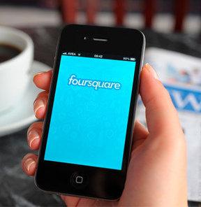foursquare, check-in