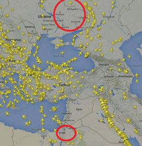 Ukrayna gibi İsrail hava sahası da boş.
