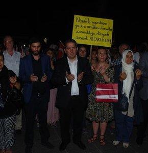 Bakırköy'de İsrail protestosu