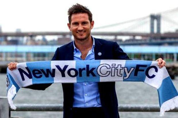 Lampard, 13 yıldır Chelsea forması giyiyordu