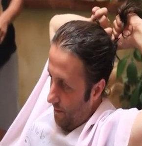 İlker Ayrık saçlarını böyle kesti