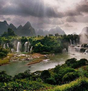 Dünyanın bir ucu: Guangxi Province, Guangxi Province