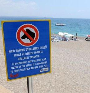 Dondan sonra bir yasak daha! (Konyaaltı Plajı)